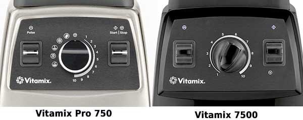 Vitamix Pro 750 vs Vitamix 7500