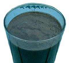 blue-green smoothie