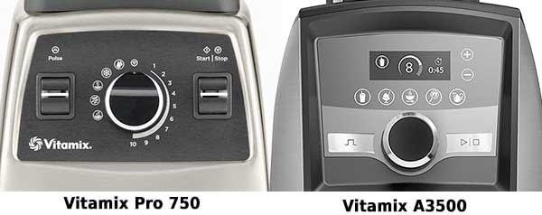 Vitamix Pro 750 vs Vitamix A3500
