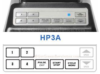 HP3A Blender Control Panel