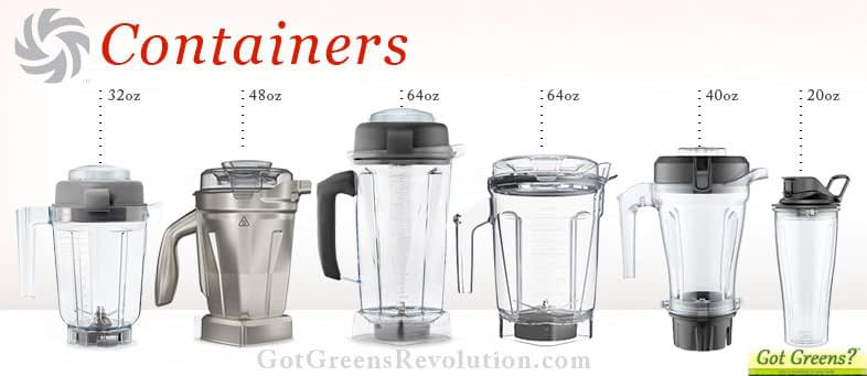 Vitamix containers